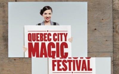 マジックショーの広告にはマジックを。Part 2 ~ Quebec magic festival ~