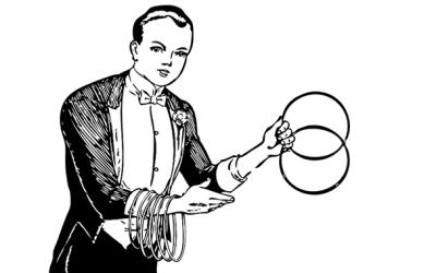 マジシャン限定ライフハック!リンキングリング活用法!