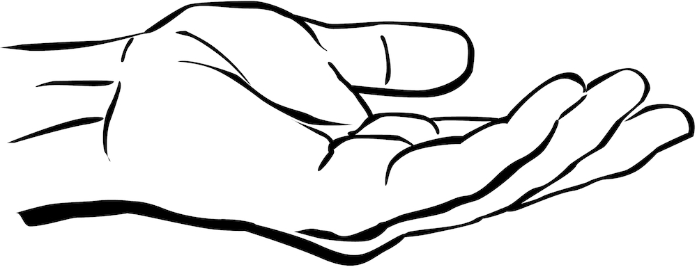 outstretched-hand-clipart
